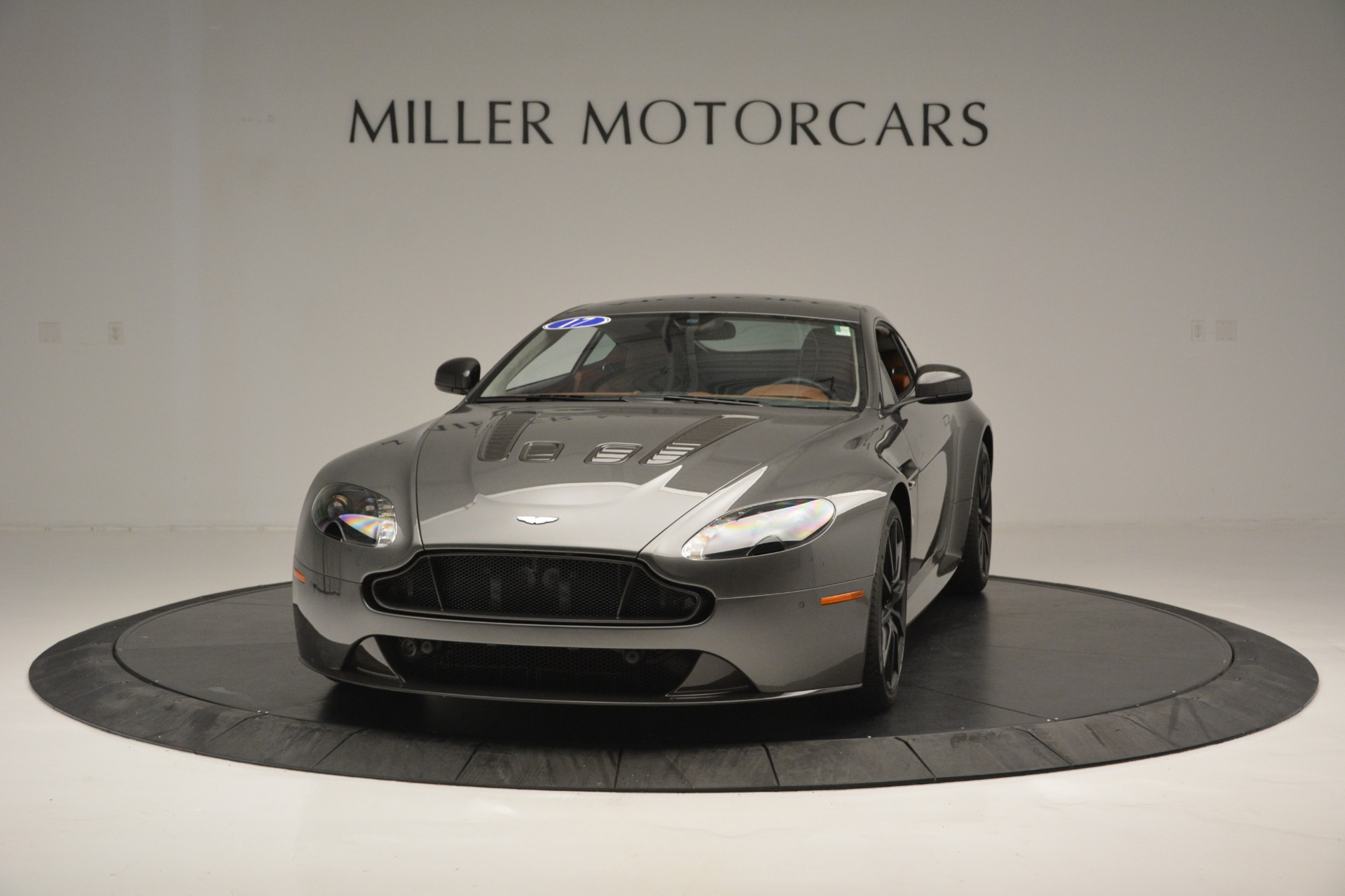 Used 2017 Aston Martin V12 Vantage S for sale Sold at Rolls-Royce Motor Cars Greenwich in Greenwich CT 06830 1
