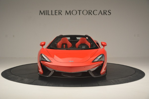New 2019 McLaren 570S Spider Convertible for sale Sold at Rolls-Royce Motor Cars Greenwich in Greenwich CT 06830 12