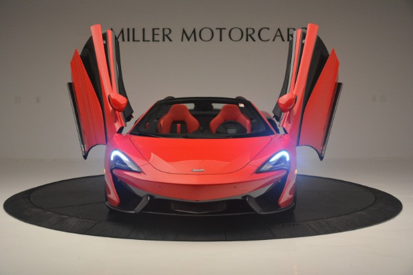 New 2019 McLaren 570S Spider Convertible for sale Sold at Rolls-Royce Motor Cars Greenwich in Greenwich CT 06830 13
