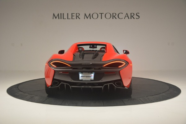 New 2019 McLaren 570S Spider Convertible for sale Sold at Rolls-Royce Motor Cars Greenwich in Greenwich CT 06830 17