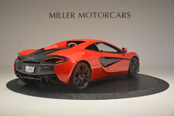 New 2019 McLaren 570S Spider Convertible for sale Sold at Rolls-Royce Motor Cars Greenwich in Greenwich CT 06830 18