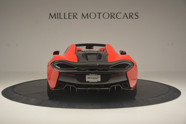 New 2019 McLaren 570S Spider Convertible for sale Sold at Rolls-Royce Motor Cars Greenwich in Greenwich CT 06830 6