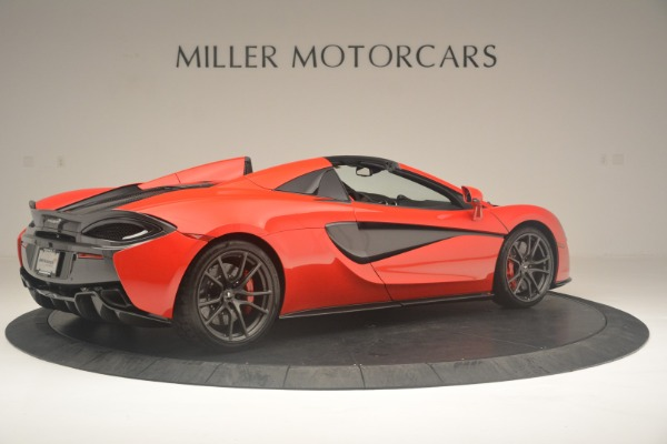 New 2019 McLaren 570S Spider Convertible for sale Sold at Rolls-Royce Motor Cars Greenwich in Greenwich CT 06830 8