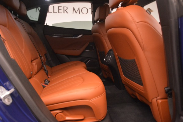 Used 2018 Maserati Levante Q4 for sale Sold at Rolls-Royce Motor Cars Greenwich in Greenwich CT 06830 27