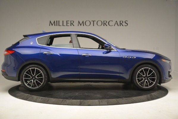 Used 2018 Maserati Levante Q4 for sale Sold at Rolls-Royce Motor Cars Greenwich in Greenwich CT 06830 9
