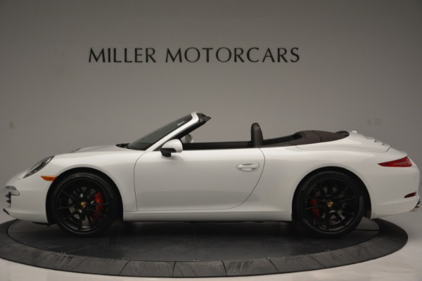 Used 2015 Porsche 911 Carrera S for sale Sold at Rolls-Royce Motor Cars Greenwich in Greenwich CT 06830 3