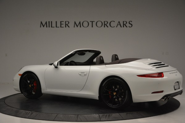 Used 2015 Porsche 911 Carrera S for sale Sold at Rolls-Royce Motor Cars Greenwich in Greenwich CT 06830 4