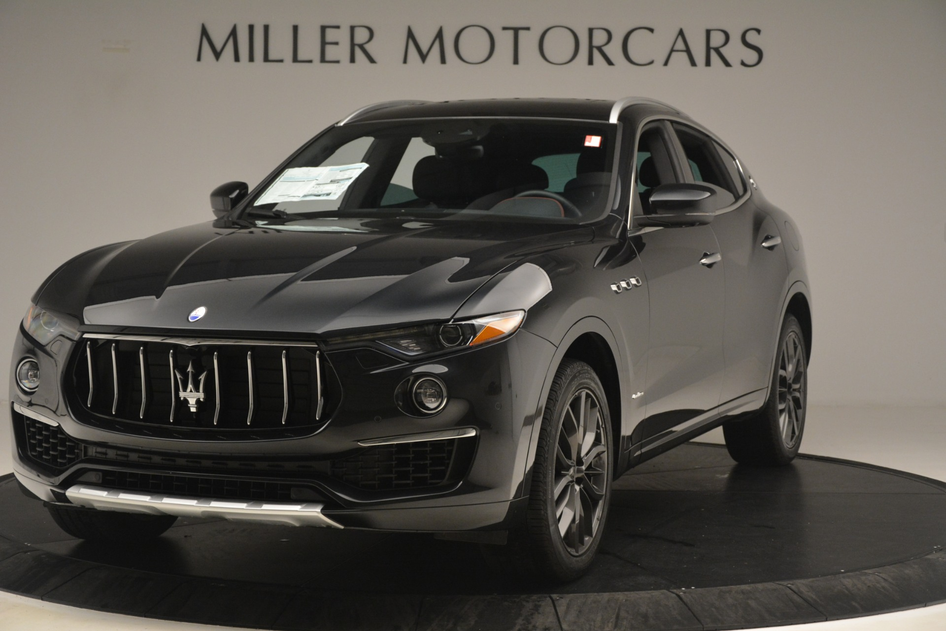 New 2019 Maserati Levante Q4 GranLusso for sale Sold at Rolls-Royce Motor Cars Greenwich in Greenwich CT 06830 1