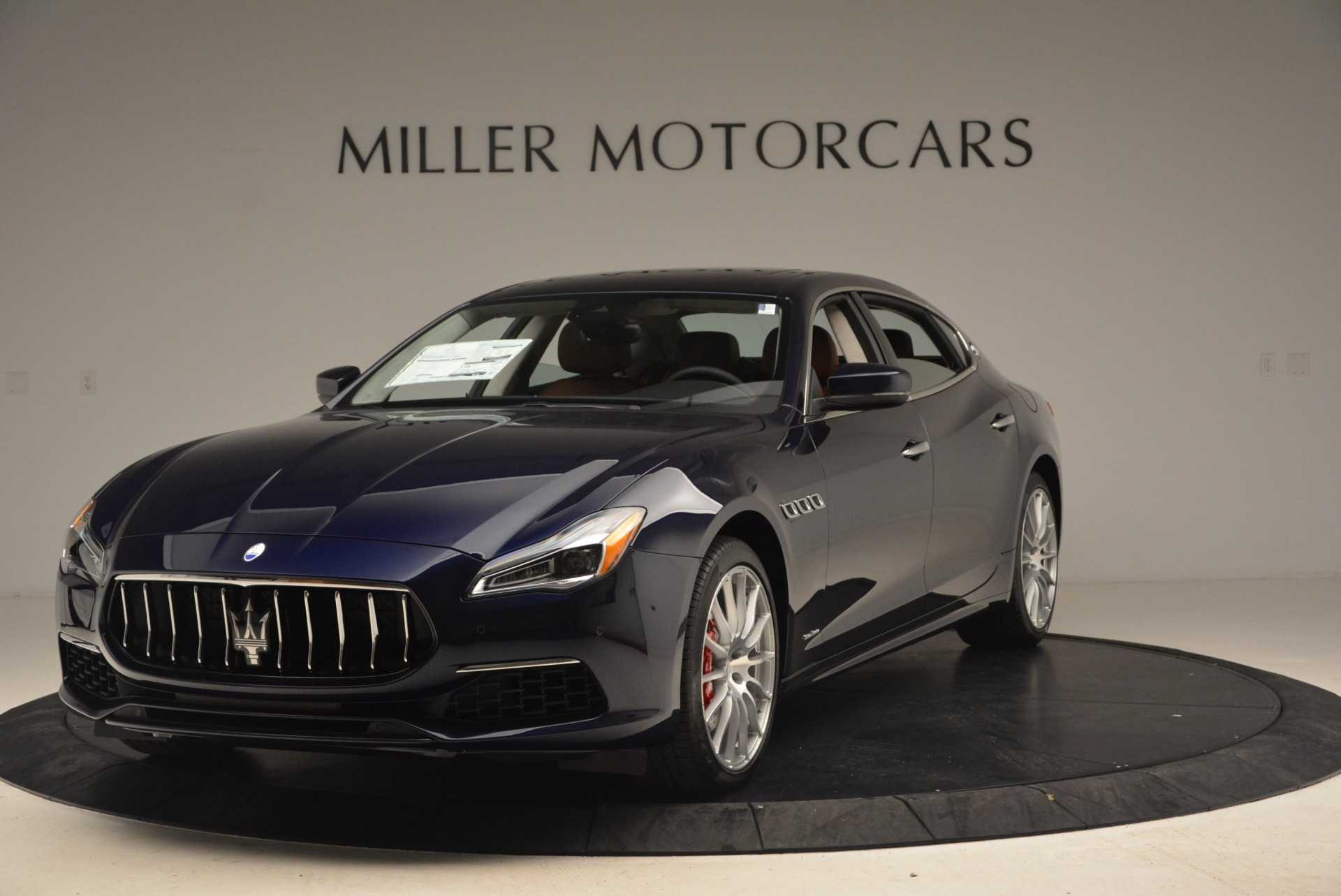 New 2019 Maserati Quattroporte S Q4 GranSport for sale Sold at Rolls-Royce Motor Cars Greenwich in Greenwich CT 06830 1