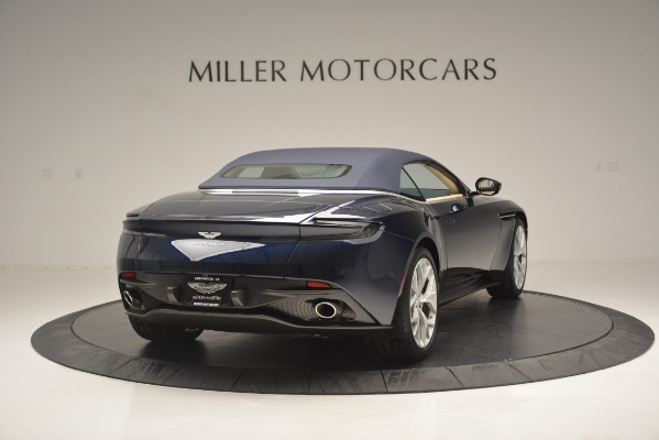 New 2019 Aston Martin DB11 Volante Volante for sale Sold at Rolls-Royce Motor Cars Greenwich in Greenwich CT 06830 19