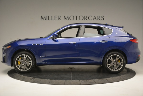 New 2019 Maserati Levante S Q4 GranSport for sale Sold at Rolls-Royce Motor Cars Greenwich in Greenwich CT 06830 3