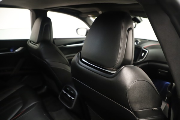New 2019 Maserati Ghibli S Q4 GranSport for sale Sold at Rolls-Royce Motor Cars Greenwich in Greenwich CT 06830 28