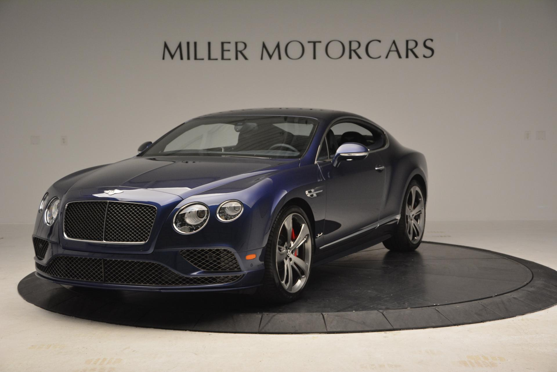 Used 2016 Bentley Continental GT Speed GT Speed for sale Sold at Rolls-Royce Motor Cars Greenwich in Greenwich CT 06830 1