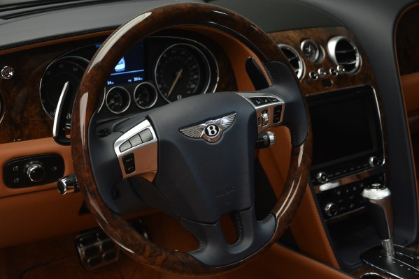 New 2018 Bentley Flying Spur V8 for sale Sold at Rolls-Royce Motor Cars Greenwich in Greenwich CT 06830 23