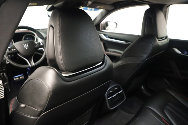Used 2019 Maserati Ghibli S Q4 GranSport for sale $64,900 at Rolls-Royce Motor Cars Greenwich in Greenwich CT 06830 20