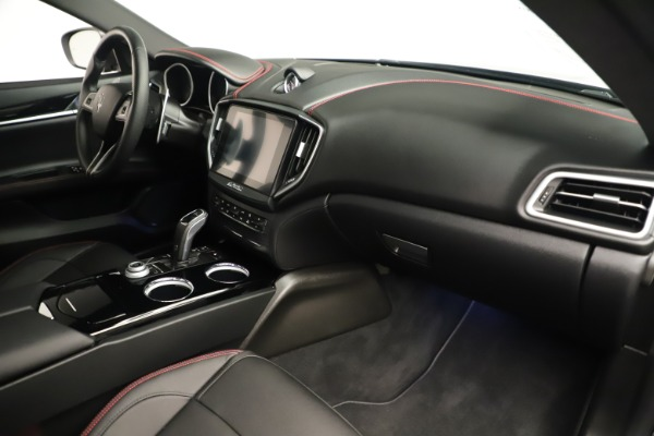 Used 2019 Maserati Ghibli S Q4 GranSport for sale $64,900 at Rolls-Royce Motor Cars Greenwich in Greenwich CT 06830 22