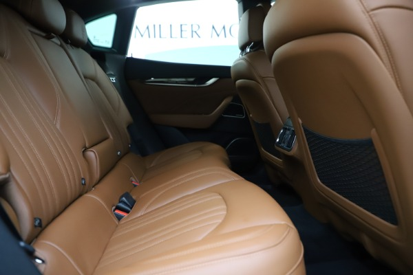 Used 2019 Maserati Levante Q4 GranLusso for sale Sold at Rolls-Royce Motor Cars Greenwich in Greenwich CT 06830 27