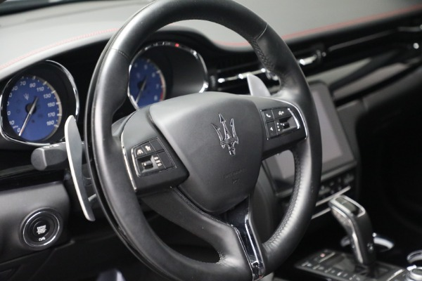 New 2019 Maserati Quattroporte S Q4 GranLusso for sale Sold at Rolls-Royce Motor Cars Greenwich in Greenwich CT 06830 17
