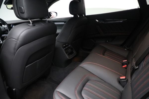 New 2019 Maserati Quattroporte S Q4 GranLusso for sale Sold at Rolls-Royce Motor Cars Greenwich in Greenwich CT 06830 22
