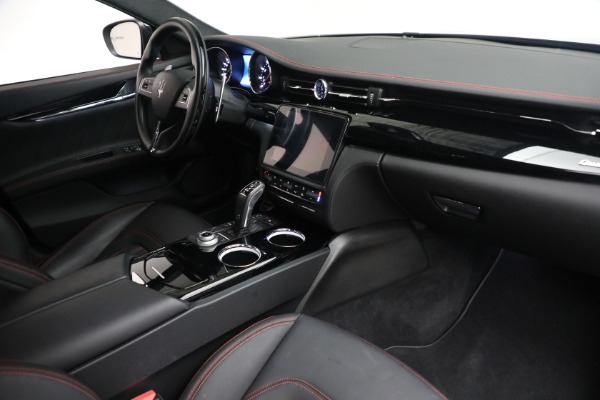 New 2019 Maserati Quattroporte S Q4 GranLusso for sale Sold at Rolls-Royce Motor Cars Greenwich in Greenwich CT 06830 26