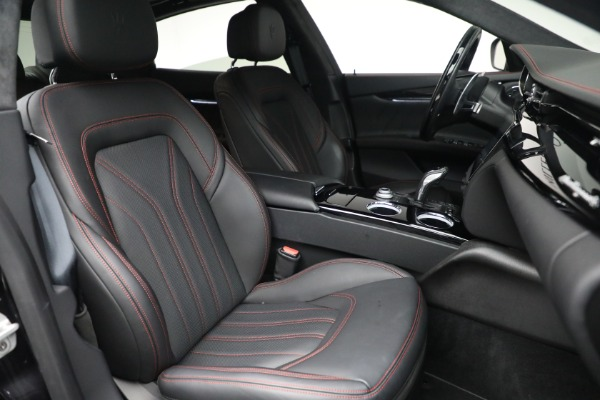 Used 2019 Maserati Quattroporte S Q4 GranLusso for sale $68,900 at Rolls-Royce Motor Cars Greenwich in Greenwich CT 06830 28