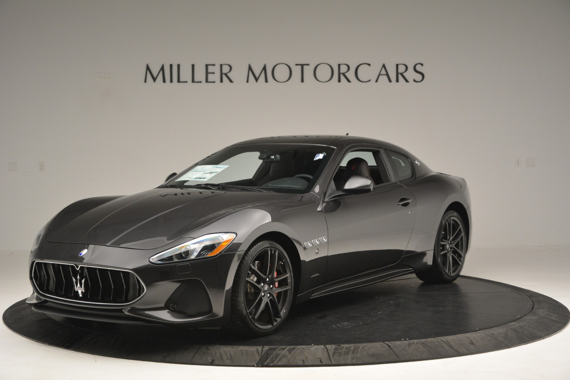 New 2018 Maserati GranTurismo Sport for sale Sold at Rolls-Royce Motor Cars Greenwich in Greenwich CT 06830 1