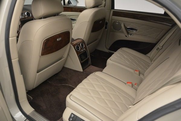 Used 2014 Bentley Flying Spur W12 for sale Sold at Rolls-Royce Motor Cars Greenwich in Greenwich CT 06830 24