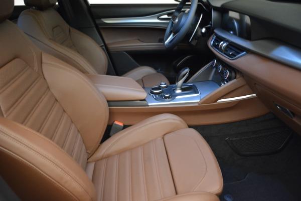 New 2018 Alfa Romeo Stelvio Ti Sport Q4 for sale Sold at Rolls-Royce Motor Cars Greenwich in Greenwich CT 06830 20