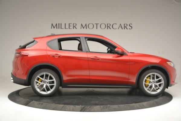 New 2018 Alfa Romeo Stelvio Ti Sport Q4 for sale Sold at Rolls-Royce Motor Cars Greenwich in Greenwich CT 06830 9
