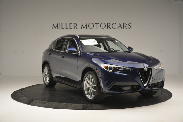 New 2018 Alfa Romeo Stelvio Ti Lusso Q4 for sale Sold at Rolls-Royce Motor Cars Greenwich in Greenwich CT 06830 11