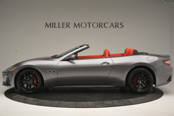Used 2018 Maserati GranTurismo Sport for sale Sold at Rolls-Royce Motor Cars Greenwich in Greenwich CT 06830 3