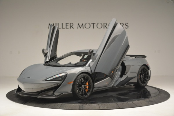 New 2019 McLaren 600LT Coupe for sale Call for price at Rolls-Royce Motor Cars Greenwich in Greenwich CT 06830 14