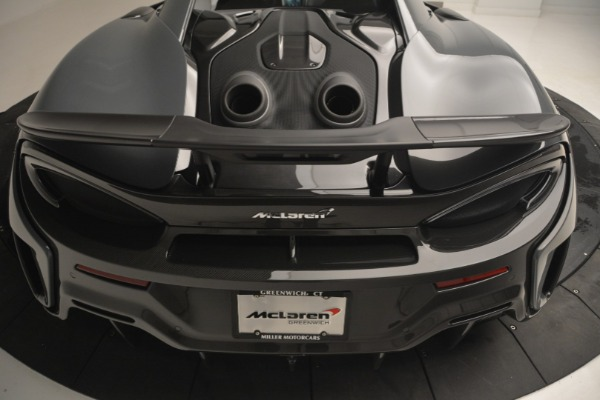 New 2019 McLaren 600LT Coupe for sale Call for price at Rolls-Royce Motor Cars Greenwich in Greenwich CT 06830 26