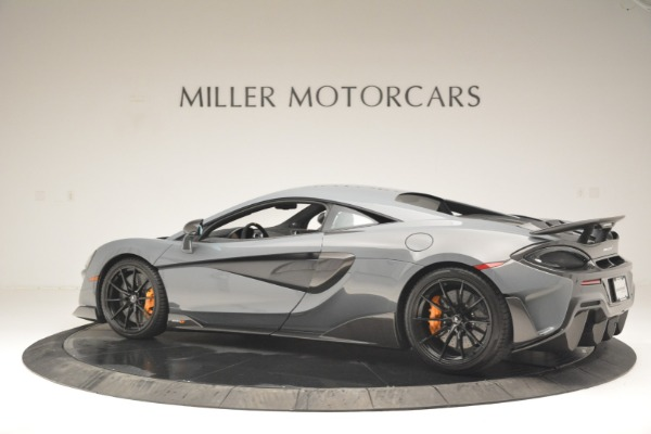 New 2019 McLaren 600LT Coupe for sale Call for price at Rolls-Royce Motor Cars Greenwich in Greenwich CT 06830 4