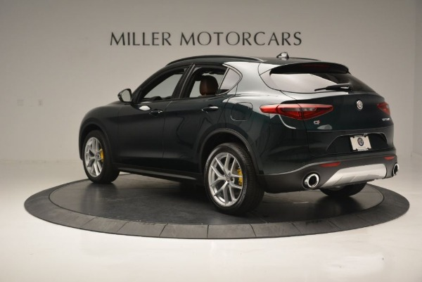 New 2019 Alfa Romeo Stelvio Ti Sport Q4 for sale Sold at Rolls-Royce Motor Cars Greenwich in Greenwich CT 06830 6