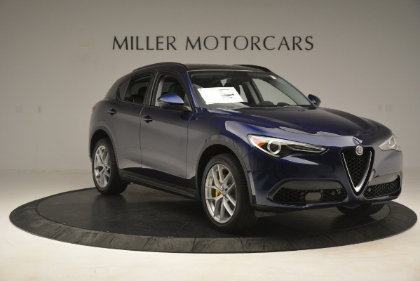 New 2019 Alfa Romeo Stelvio SPORT AWD for sale Sold at Rolls-Royce Motor Cars Greenwich in Greenwich CT 06830 11