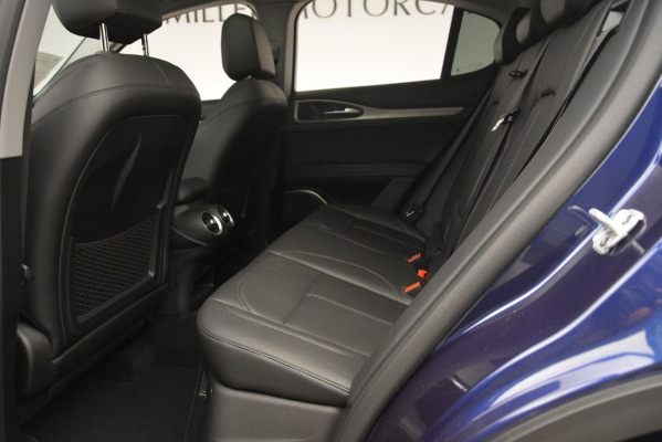 New 2019 Alfa Romeo Stelvio SPORT AWD for sale Sold at Rolls-Royce Motor Cars Greenwich in Greenwich CT 06830 19