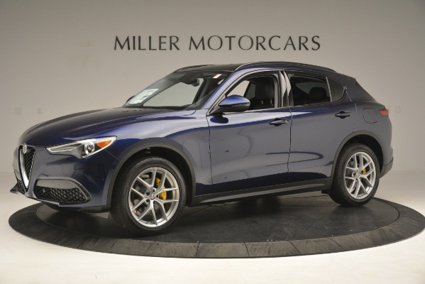 New 2019 Alfa Romeo Stelvio SPORT AWD for sale Sold at Rolls-Royce Motor Cars Greenwich in Greenwich CT 06830 2