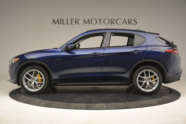 New 2019 Alfa Romeo Stelvio SPORT AWD for sale Sold at Rolls-Royce Motor Cars Greenwich in Greenwich CT 06830 3
