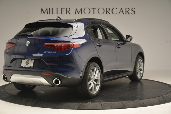 New 2019 Alfa Romeo Stelvio SPORT AWD for sale Sold at Rolls-Royce Motor Cars Greenwich in Greenwich CT 06830 7