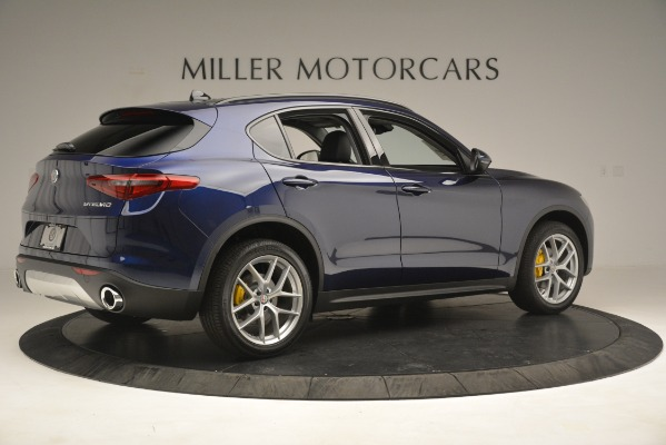 New 2019 Alfa Romeo Stelvio SPORT AWD for sale Sold at Rolls-Royce Motor Cars Greenwich in Greenwich CT 06830 8
