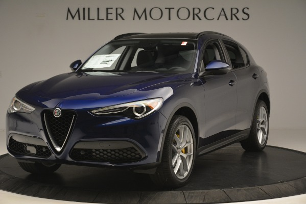 New 2019 Alfa Romeo Stelvio SPORT AWD for sale Sold at Rolls-Royce Motor Cars Greenwich in Greenwich CT 06830 1
