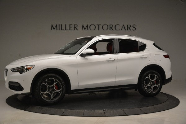 New 2019 Alfa Romeo Stelvio Q4 for sale Sold at Rolls-Royce Motor Cars Greenwich in Greenwich CT 06830 2