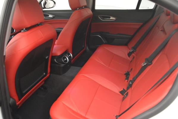 New 2019 Alfa Romeo Giulia Ti Q4 for sale Sold at Rolls-Royce Motor Cars Greenwich in Greenwich CT 06830 19