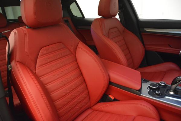New 2019 Alfa Romeo Stelvio Ti Sport Q4 for sale Sold at Rolls-Royce Motor Cars Greenwich in Greenwich CT 06830 21