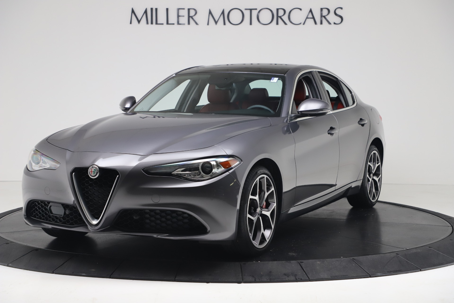 New 2019 Alfa Romeo Giulia Q4 for sale Sold at Rolls-Royce Motor Cars Greenwich in Greenwich CT 06830 1