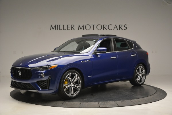 New 2019 Maserati Levante Q4 GranSport for sale $90,370 at Rolls-Royce Motor Cars Greenwich in Greenwich CT 06830 2