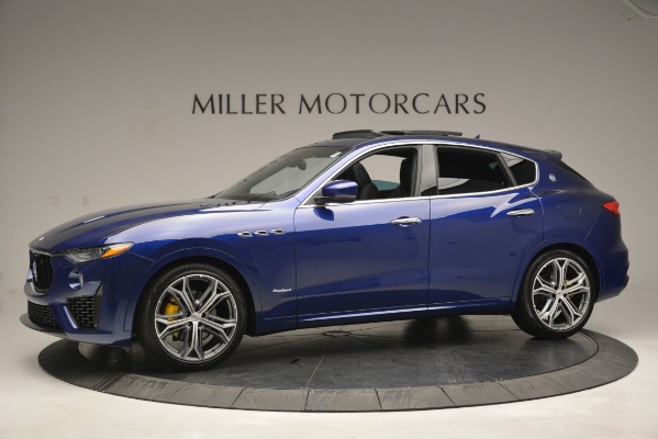 New 2019 Maserati Levante Q4 GranSport for sale $90,370 at Rolls-Royce Motor Cars Greenwich in Greenwich CT 06830 3