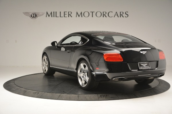 Used 2012 Bentley Continental GT W12 for sale Sold at Rolls-Royce Motor Cars Greenwich in Greenwich CT 06830 6