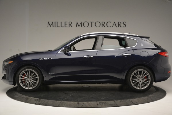 New 2019 Maserati Levante Q4 GranLusso for sale Sold at Rolls-Royce Motor Cars Greenwich in Greenwich CT 06830 3